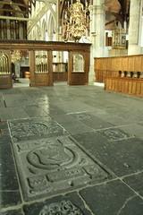 Graves on the floor of Oude Kerk (firepile) Tags: amsterdam oldchurch oudekerk