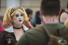 C2E2 2016 (SauceyJack) Tags: show portrait chicago face comics march costume illinois outfit comic place expo cosplay character makeup saturday il fantasy convention comicbook cosplayer mccormick pretend mccormickplace 2016 portray costumeplay c2e2 chicagocomicandentertainmentexpo canon1dx 7020028isiil sauceyjack cloneclub lightroomcc