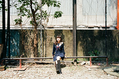 42380009 (WANGYANZHI) Tags: people cute art girl canon iso100 kodak taiwan 100 eos5     ektar  ximen 24mm105mm sgima   ektar100