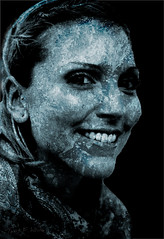 Tash of Wave (TONY F WHITE) Tags: portrait female model 28300mm tash alteredreality naturallightportrait mtcootthabotanicalgardens canoneos7d ozlight ozlightphotoadventures natashaweller