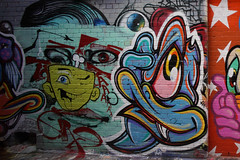 (th3butcherofbilbao) Tags: street art melbourne caper
