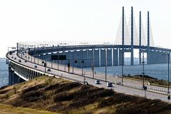 resundsbron (Hkan Dahlstrm) Tags: road railroad bridge sea copenhagen denmark photography se skne traffic motorway sweden border creative commons cc cropped malm f71 resund resundsbron 2016 motorvg skneln vster xe2 xc50230mmf4567ois sek 9711042016174326