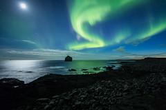 Northern Lights (Kristjn Kristinsson) Tags: reykjanes northernlights auroraborealis reykjanesviti reykjanespeninsula norurljs reykjanesskagi