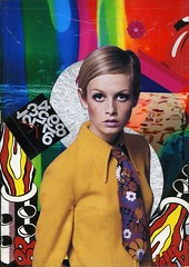 """ Twiggy "" 2014 (collage) by Andre Boitard / Pop Art (lalek72.popart) Tags: mixedmedia popart twiggy popartculture andreboitard"