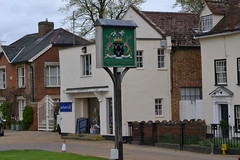 Cavendish (reynardbizzar) Tags: sign suffolk village attractive cavendish unspoilt inspoiled
