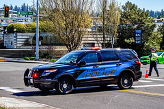 Fatal BNSF Train vs Pedestrian Incident 04/19/2016 (andrewkim101) Tags: county ford washington state police utility wa suv department interceptor edmonds snohomish