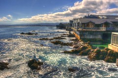 The View from the Deck (--joe Lach) Tags: california water coast monterey rocks waves montereybayaquarium montereybay pacificocean viewfromthedeck waterpictorial joelach