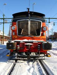 Z70 745, Karlstad 2010-02-23 (Michael Erhardsson) Tags: green station vinter sweden c ks cargo karlstad sverige 745 2010 februari lok tg jrnvg lokomotor z70