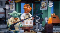 Fishing (Reiterlied) Tags: toy temple starwars fishing yoda lego minifig ackbar minifigure ninjago airjitzu
