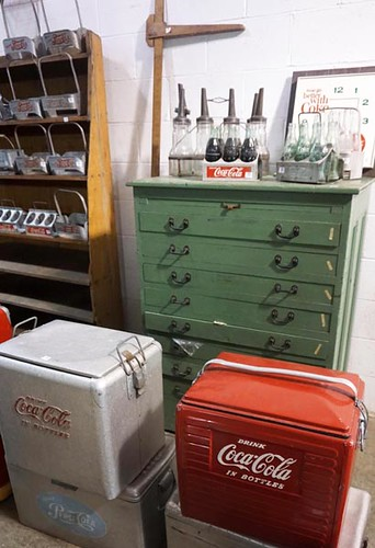 Green Painted Map Chest - $242.00