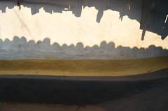 Modest ingenuity. (Gattam Pattam) Tags: light sun india house colour texture architecture rural pattern mud chhattisgarh