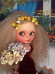 Blythe-a-Day April#30: Beltane: Ava as Young Miss Havisham...