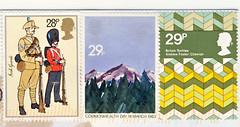England March (postcardlady1) Tags: stamps briefmarken