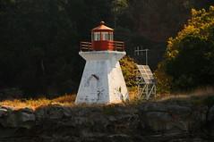 Porlier Pass Range Rear Light, British Columbia (lighthouser) Tags: lighthouse canada britishcolumbia porlierpass lighthousetrek rangerearlight