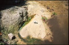 (bensn) Tags: film water rock japan stone river sand rocks pentax stones ground slide dirt velvia 50 limited fa lx f19 43mm