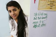 Tell All the Truth But Tell it Slant (Mayank Austen Soofi) Tags: life woman girl emily truth all tell delhi it but slant dickinson walla
