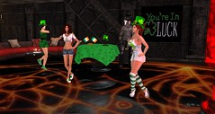 Club Drow - St. Patrick's Day (Osiris LeShelle) Tags: life music green st club fun dance day dancing grove patrick secondlife second stpatricksday drow avilion