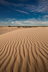 Mungo Ripples (robertdownie) Tags: new blue light sunset shadow sky sun lake wales clouds sand desert wind dunes south australia nsw outback ripples grains lunette trough mungo
