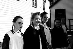 Girls (Yarra12) Tags: girls people blackandwhite students girl monochrome hill australia groupshot pupils sovereign