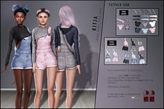 KITJA - Mila Outfit (ᴋɪᴛᴊᴀ) Tags: maitreya slink seconlife meshbody kitja kustom9 fittedmesh slinkphysique maitreyalara slinkhourglass