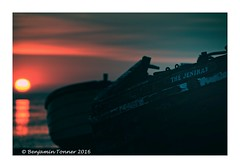 Another day dawns for The Jeniray (frattonparker) Tags: dawn raw dungeness wreck englishchannel lamanche cs6 nikond90 ononesoftware nikkor18300mmvr btonner frattonparker adoberaw9