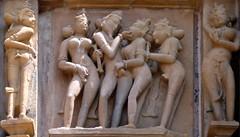 India - Madhya Pradesh - Khajuraho - Khajuraho Group Of Monuments - Kandariya Mahadeva Temple - 222 (asienman) Tags: india khajuraho madhyapradesh khajurahogroupofmonuments asienmanphotography