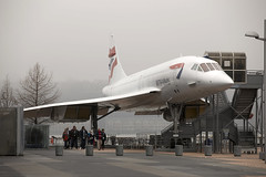 British Airways Concorde G-BOAD, Intrepid air & space museum, New York, March 2016 (Rochdale 235) Tags: nyc usa newyork museum america manhattan concorde intrepid british ba preserved airways britishairways bac aerospatiale gboad
