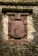 Mainz, Zitadelle, Schnborn-Wappen (HEN-Magonza) Tags: germany deutschland citadel mainz rheinlandpfalz zitadelle rhinelandpalatinate