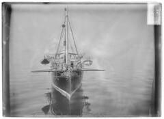 Sextant; merenmittausalus Palosaaren salmessa (Brändö sund) (KansallisarkistoKA) Tags: sextant palosaari brandö merenmittausalus