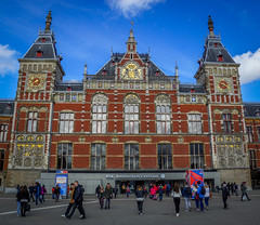 Centraal Station (Aultone) Tags: station amsterdam 1889 centraal