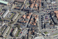 The Rows - Broad Row and Market Row - Great Yarmouth Aerial Images (John D F) Tags: norfolk aerial fromabove greatyarmouth eastanglia yarmouthrows therows aerialimage marketrow broadrow