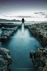 El Madrugador... (www.lanternman.es) Tags: costa canon de la mar reina mediterraneo alicante amanecer silueta campello crepuscular baos filtros 60d lucroit