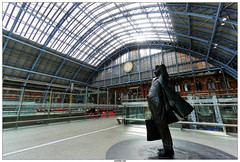 St Pancras International (vazyvite) Tags: london station saint st europe gare britain great londres angleterre pancras anglais