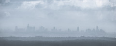 Foggy Morning Over Tel Aviv (Alex Savenok) Tags: panorama weather fog israel telaviv nikon 300mm fx winterweather 70300 modiin d610 israelnature nikon70300f4556