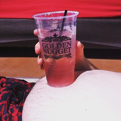 Who needs a cup holder? (ronica's ride) Tags: travel vacation square lasvegas lifestyle tequila adventure squareformat motorcycle biker cupholder fremontstreet lark goldennugget motochick iphoneography motovlog instagramapp thehideoutpool motocouple