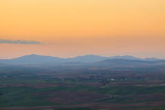 A Palouse Sunset (Matthew Singer) Tags: sunset washington unitedstates garfield palouse steptoebutte