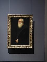 Wien _KHM_03 (Kurrat) Tags: vienna wien museum portrt bild jacopo khm kunsthistorischesmuseum gemlde bilderrahmen tintoretto robusti derweisbrtigemann wienapril2016