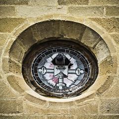 Reservado (Ignacio M. Jimnez (antes hermano Montgolfier)) Tags: espaa stone spain pigeon paloma andalucia jaen andalusia oculus sanpedro piedra ubeda oculo
