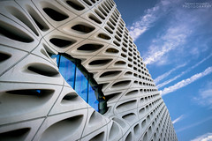 The Broad museum (Yazeed Musaed) Tags: california travel blue sky building museum architecture clouds zeiss 35mm photography los angeles sony explore alpha a7 sonyalpha mirrorless sonyimages sonya7rii a7rii