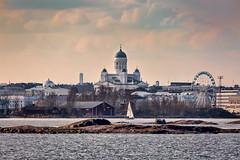 Helsinki (Tuomo Lindfors) Tags: sea water suomi finland helsinki cathedral meri suomenlinna vesi sveaborg adjust helsingintuomiokirkko topazlabs