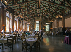 The Majestic Yosemite Hotel Dining Room (paulabarrickman) Tags: california park trees mountains hotel room national yosemite dining redwoods majestic cityarch