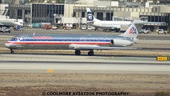 2014_10_03_LAX0557 (COOLMORE PHOTOGRAPHY) Tags: los airport angeles lax americanairlines mcdonnelldouglas md83 mcdonnelldouglasmd83 americanaa klaxn9630a