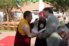 Dalaï Lama à Vajradhara Ling