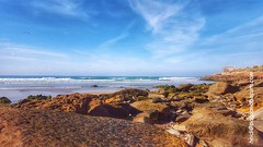 Tamraght Coast (bagsandbiscuits) Tags: ocean travel beach landscapes morocco travelphoto tamraght