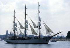 Khersones (larry_antwerp) Tags: port sailing ship belgium belgi vessel 1993 antwerp schelde  antwerpen  schip       khersones            chersones                   eurosail93 thecuttysarktallshipsrace 8511835