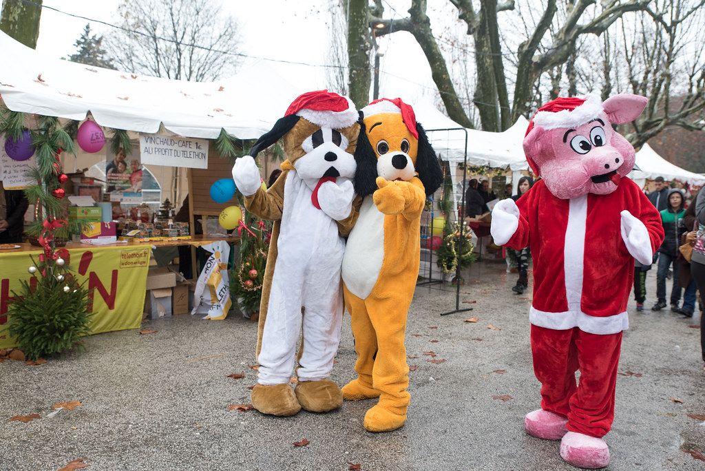 Marché de Noël à Flassans