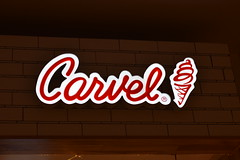 Logo (Victoria T Hunt) Tags: red carvel