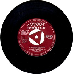 3 - Little Richard - Rip It Up - EP -UK - 1957-- (Affendaddy) Tags: uk london 1956 littlerichard tuttifrutti decca extendedplay ripitup longtallsally readyteddy collectionklaushiltscher vinyleps usrocknroll vinyl4tracksingle reo1074