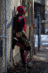Chris Deadpool Photoshoot-18 (Matthew Pappa) Tags: red canon comics cosplay marvel t3i deadpool