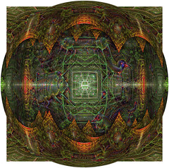 Ayahuasca Visuals + Google AI (High Quality) (Dr. C (Looking for a Publisher)) Tags: abstract google artwork dream ai ayahuasca dmt